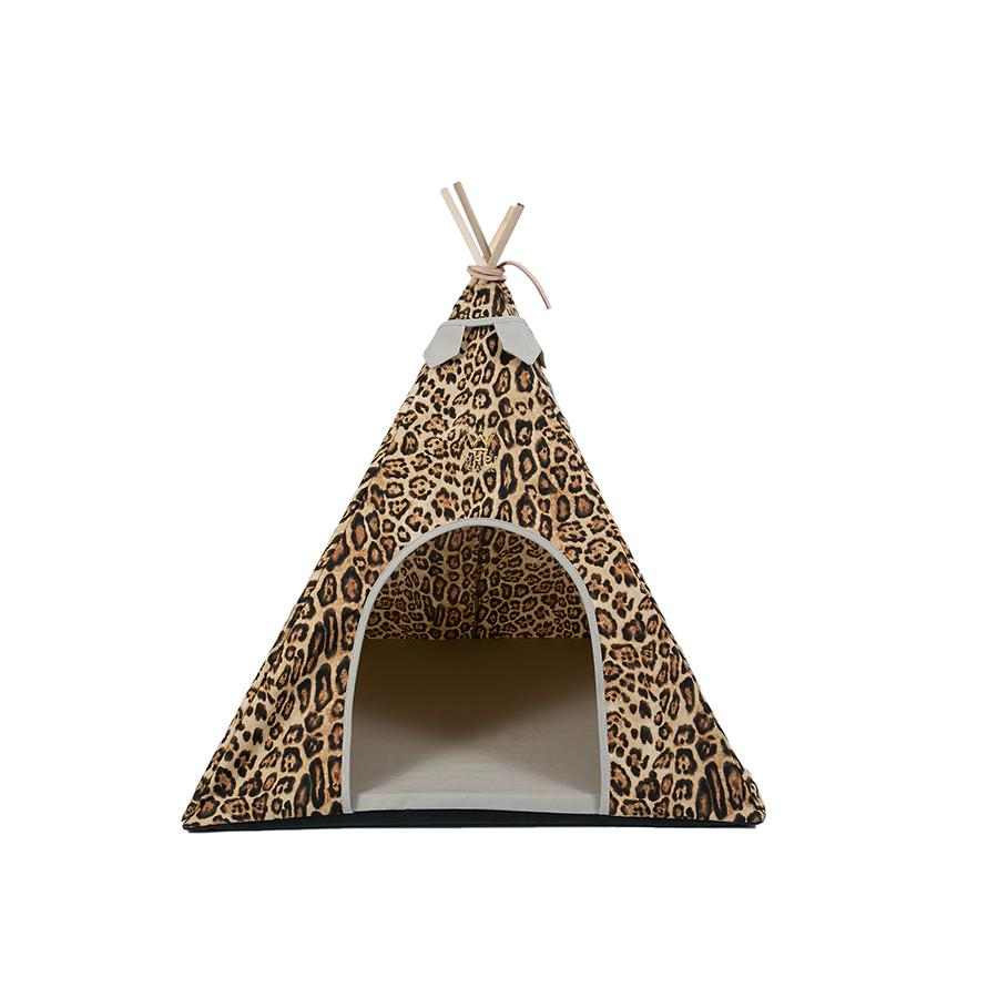 Cabana Apache Linho - Animal Print