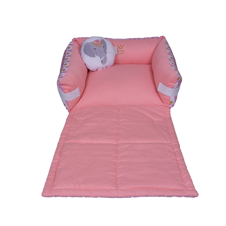 Cama Couch Candy Sarja/Microfibra - Circus Woof