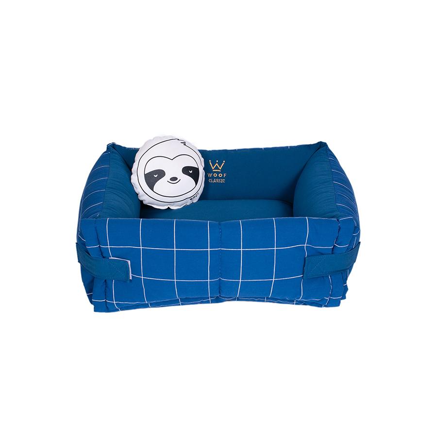 Cama Couch Grid Sarja/Linho - Lazzy Grid