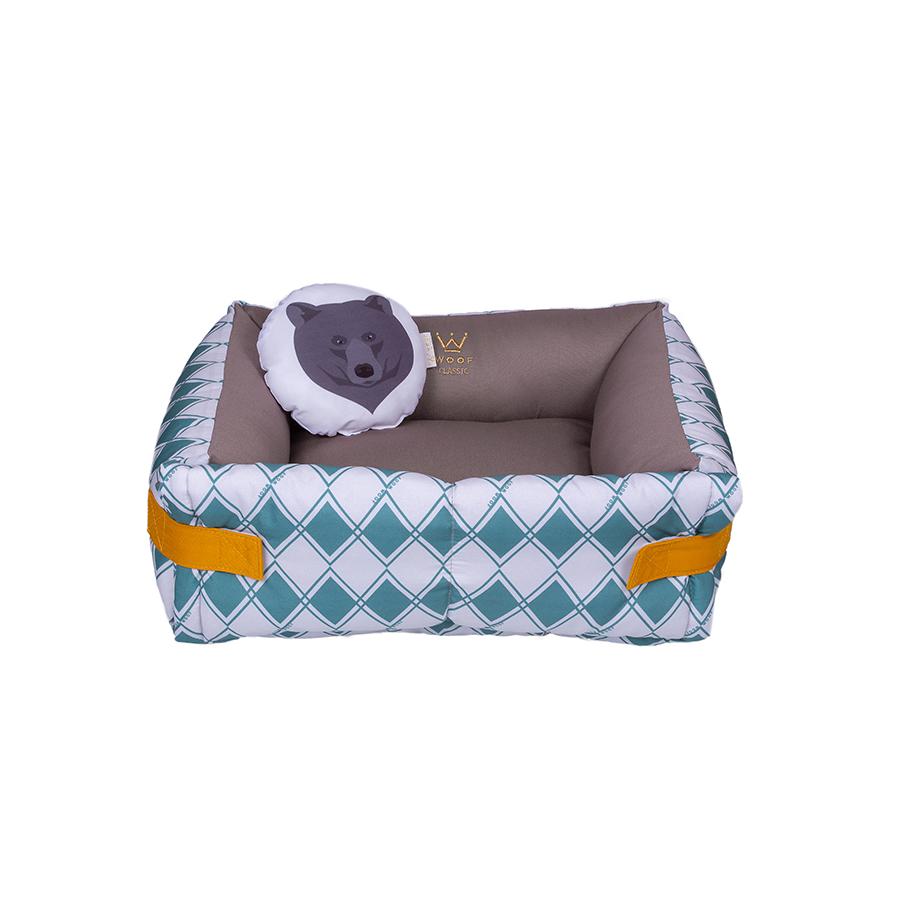Cama Couch Teo Sarja/Microfibra - Circus Woof