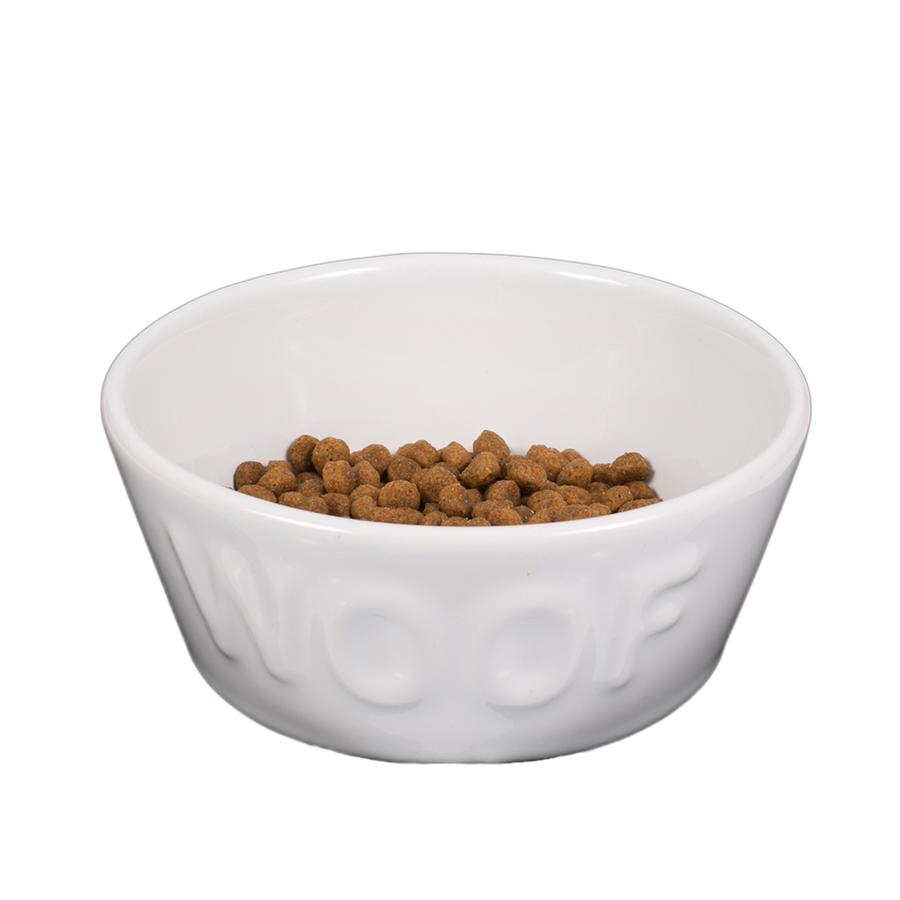 Comedouro Cerâmica Esmaltado Woof