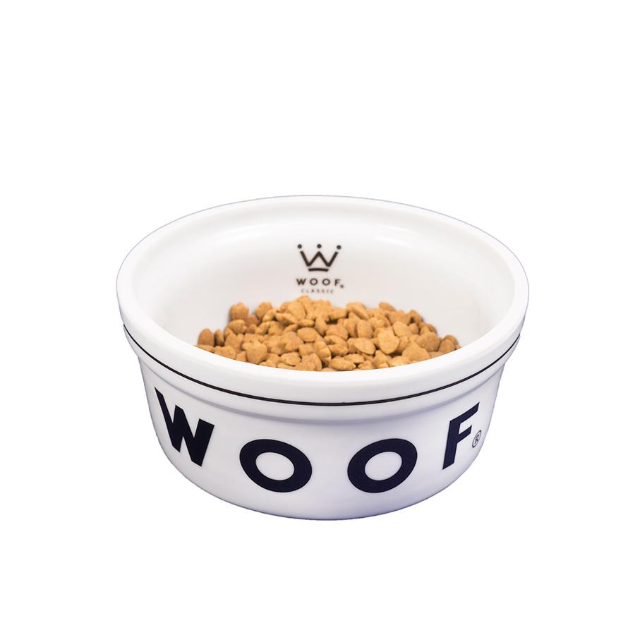 Comedouro Porcelana Institucional Woof