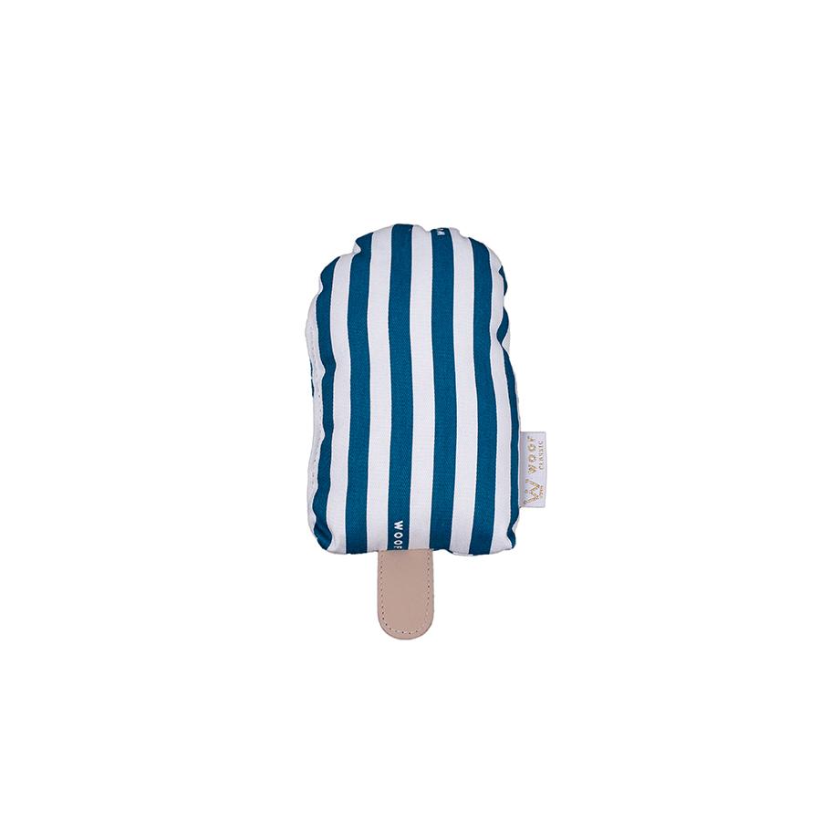 Mini Almofada Picolé Listrado Sarja