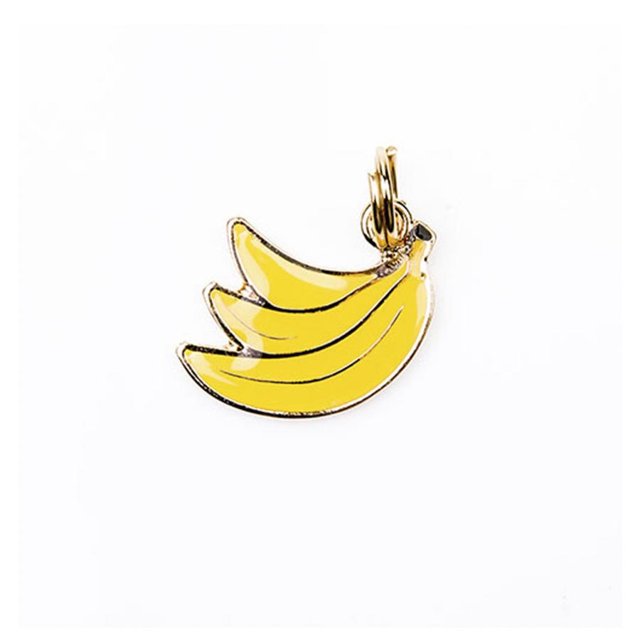 Pingente Esmaltado Banana