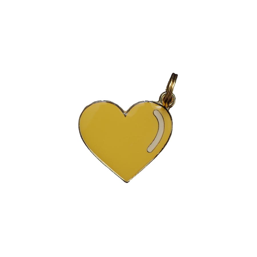 Pingente Esmaltado Coração