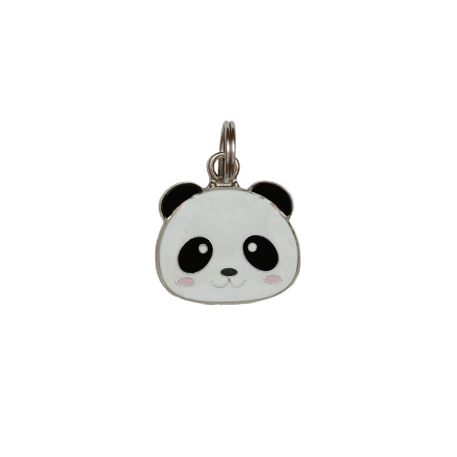 Pingente Esmaltado Níquel Panda