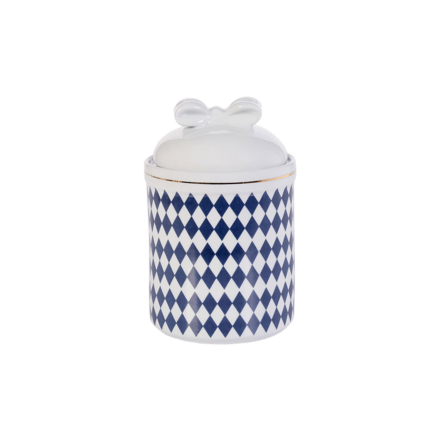 Pote Porcelana - Losango